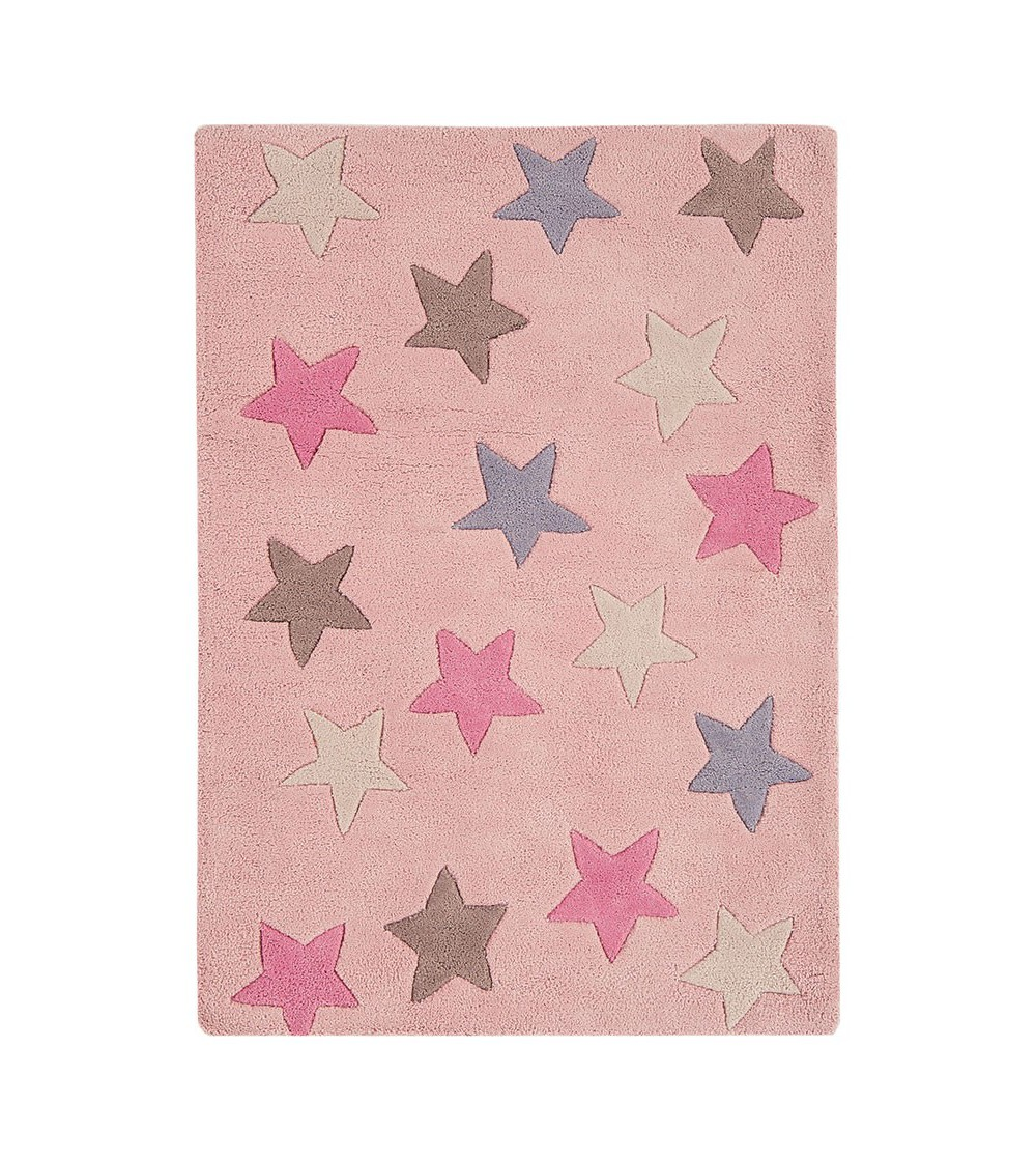 Tapete Candy Stars Pink