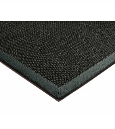 Tapete Sisal Black/Grey