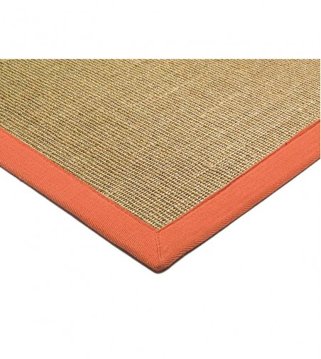 Tapete Sisal Linen Orange