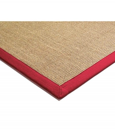 Tapete Sisal Linen Red